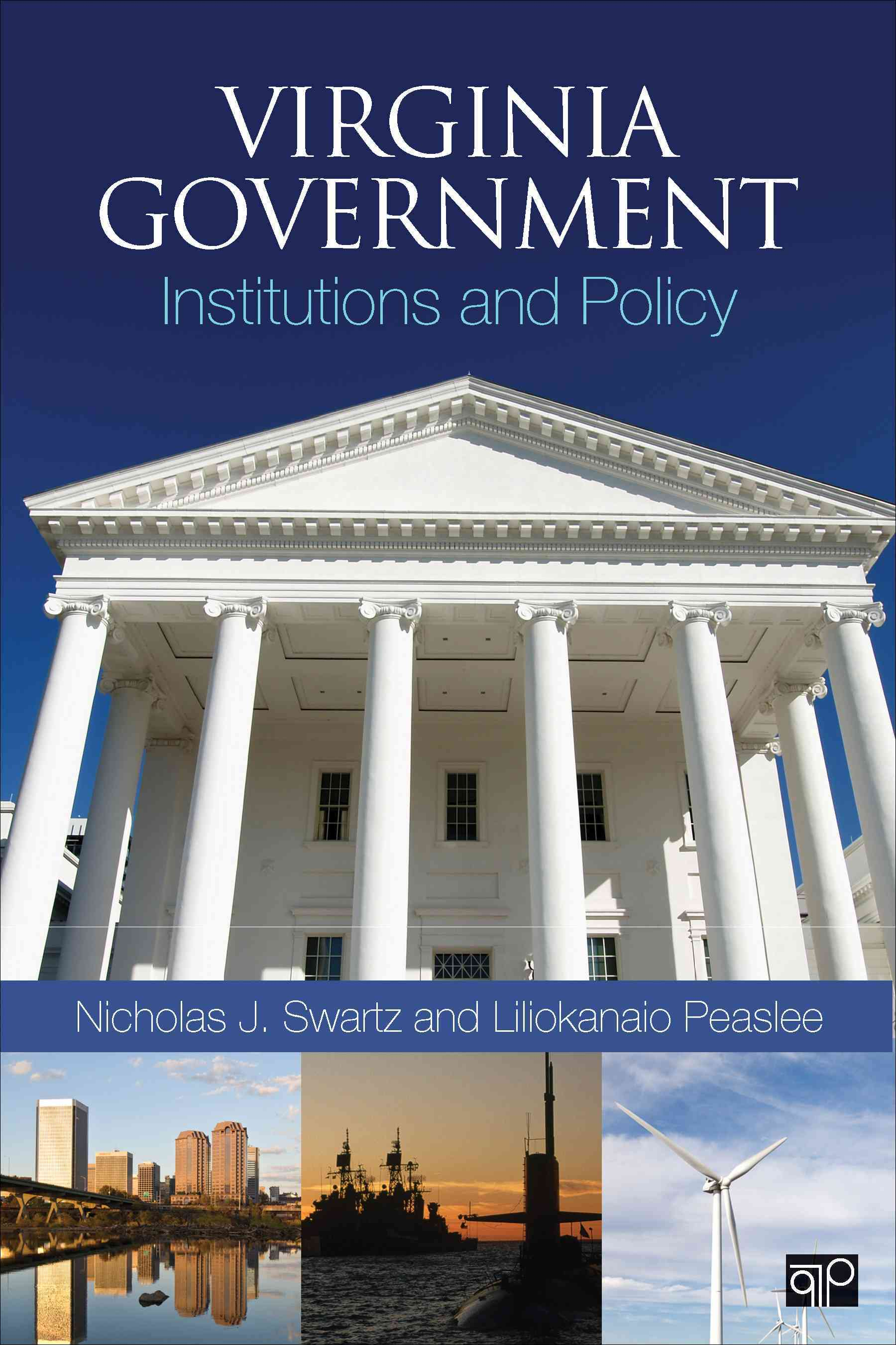 Virginia Government By Swartz, Nicholas J./ Peaslee, Liliokanaio